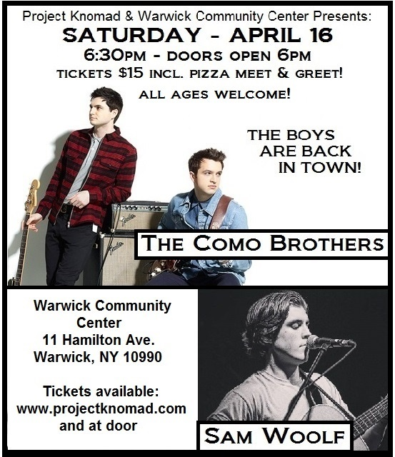 Warwick Concert 4.16.16 poster